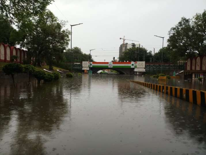 India Tv - Delhi rains, Minto Bridge