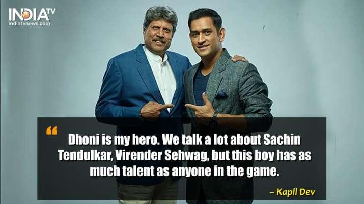 India Tv - Kapil Dev on MS Dhoni.