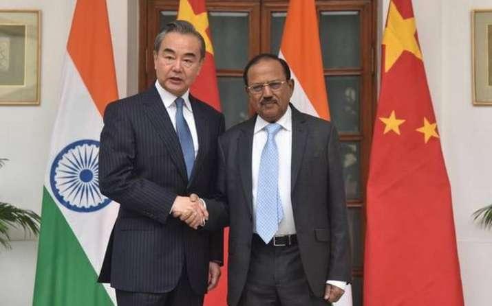 A file image of NSA Doval meeting Wang Yi.