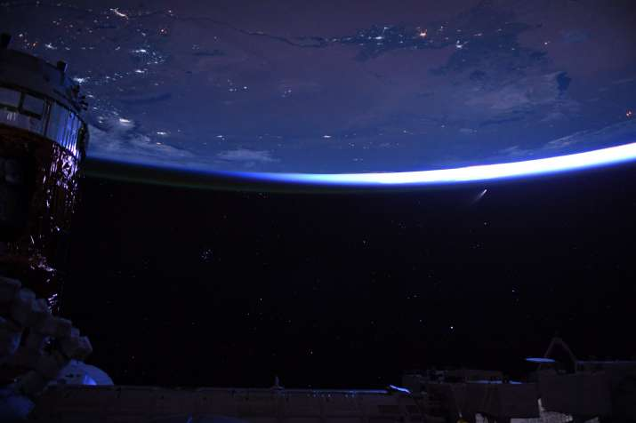 Comet NEOWISE picture taken from International Space Station will blow your mind