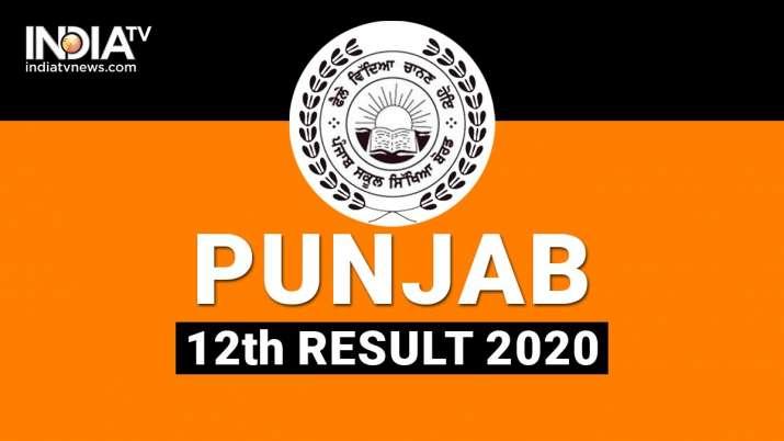 PSEB 12th Result, PSEB +2 Result 2020, Punjab Board 12th Result
