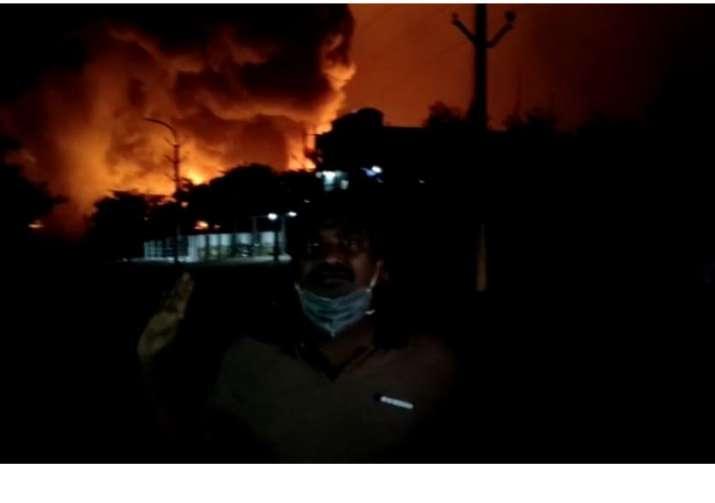 India Tv - Visakhapatnam Pharma Factory Fire News