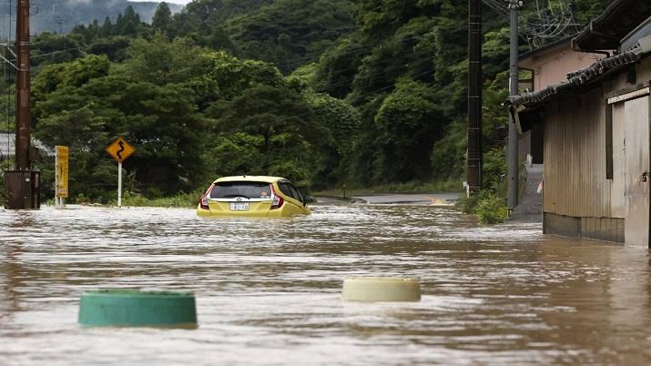 India Tv - Japan Floods