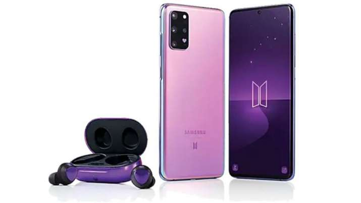 samsung, samsung smartphones, samsung galaxy s20+, samsung galaxy s20+ bts edition, samsung galaxy s