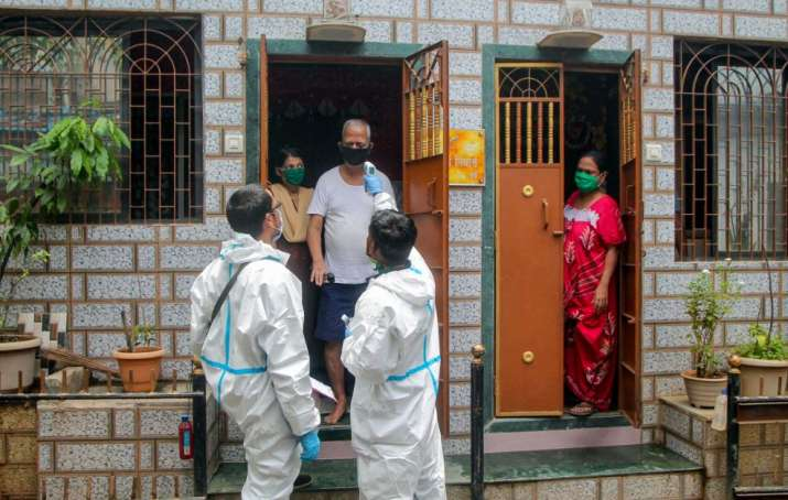 India Tv - Home isolation in delhi