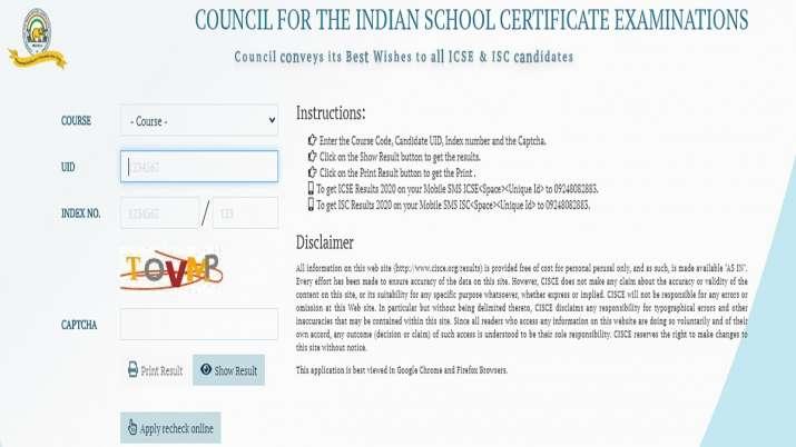 India Tv - ICSE ISC Board Exam Results 2020 declared, ICSE Class 10 result declared, Class 12 result declared