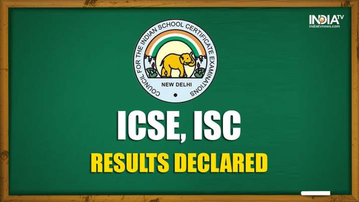 ICSE, ISC 2020: CISCE declares Class 10, 12 results