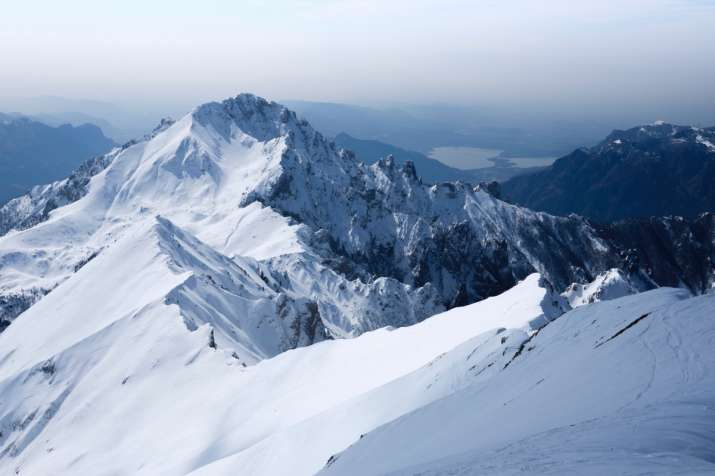Alp mountains, climate change, dark zone, glacier, Greenland, Italy, Ozone Layer, Pink ice, planet h