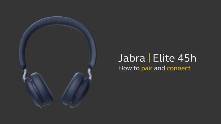 jabra, jabra Elite 45h, jabra Elite 45h launch in india, jabra Elite 45h price in india, jabra Elite