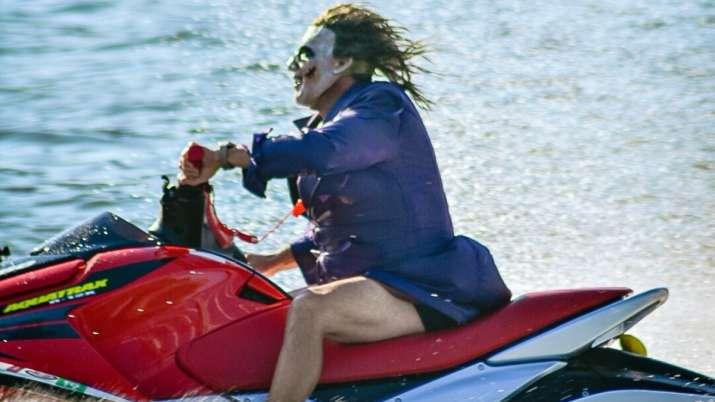 Joker gone wild! Netizen can't keep calm after video of Batman's villain jet-skiing in New York goes