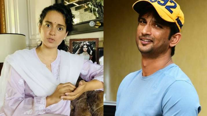 Kangana Ranaut agrees with Sushant Singh Rajput's father's FIR: