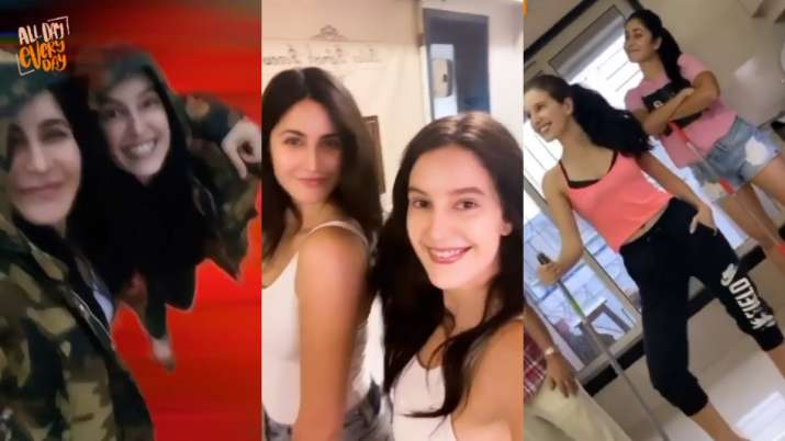 Wondering what Katrina Kaif, sister Isabelle do 'all day every day?' Watch this video to find out thumbnail