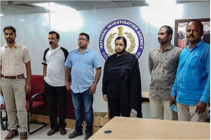 kerala gold smuggling case: Key accused Swapna Suresh and Sandeep Nair arrested by customs