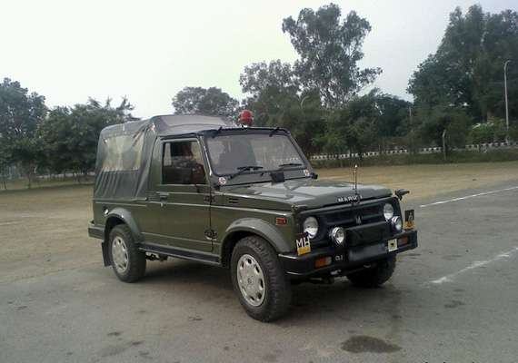 Olive Green Maruti Gypsy is back as Indian Army acquires 700 units of trusted assetOlive Green Marut