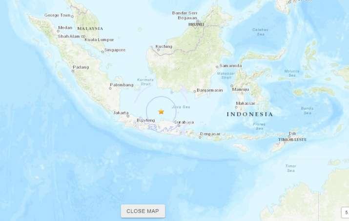 India Tv - Earthquake M 6.6 - 93 km N of Batang, Indonesia (Photo Courtesy: USGS)