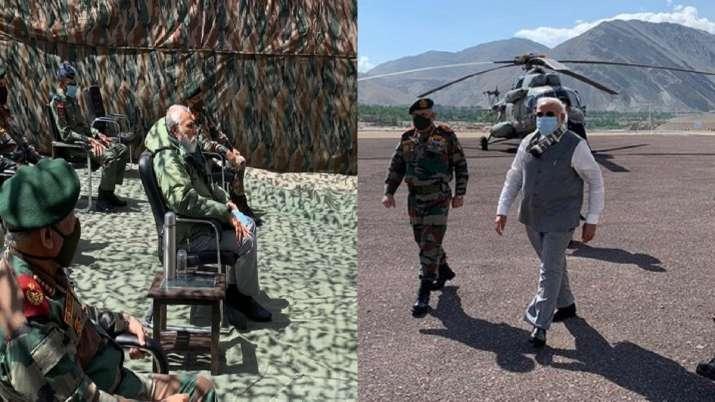 PM Modi in Leh, Indo China clash, Galwan