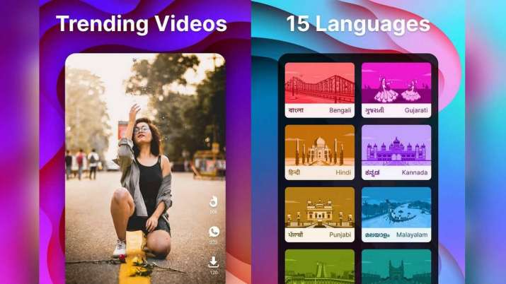 moj, moj by sharechat, sharechat app, short video app, tiktok rival, hipi zee5, roposso, tiktok app