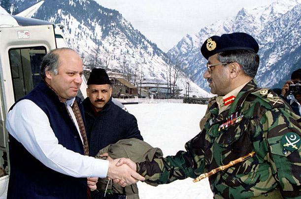 India Tv - Nawaz Sharif and Parvez Musharraf