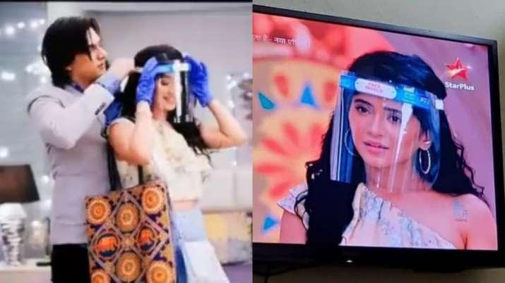 Yeh Rishta Kya Kehlata Hai: Naira, Kartik aka Shivangi and Mohsin's 'masked' avatar leaves Twitterat