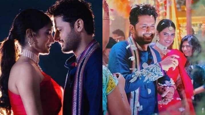 Nithiin- Shalini Mehendi and Sangeet Ceremony