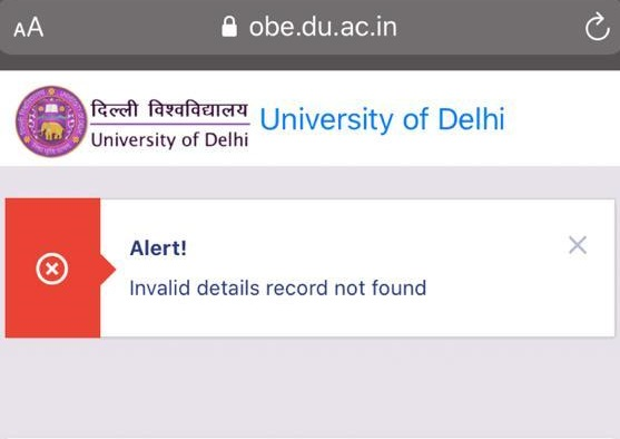 India Tv - Students encountered a number of issues as they logged on to Delhi University's official website to appear for their mock exams