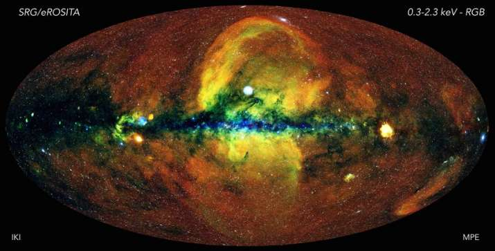 The map which was released on June 19, is based on data from the first full scan of the sky made by