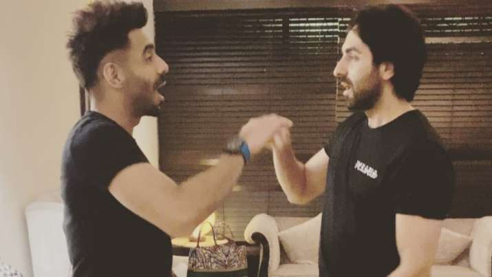 Ayushmann Khurrana and brother Aparshakti get nostalgic as they play Aao Milo Shilo Shalo