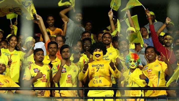 India Tv - Chennai Super Kings fans