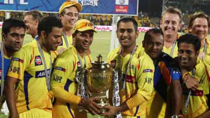 India Tv - CSK won the 2011 IPL trophy under MS Dhoni's leadership
