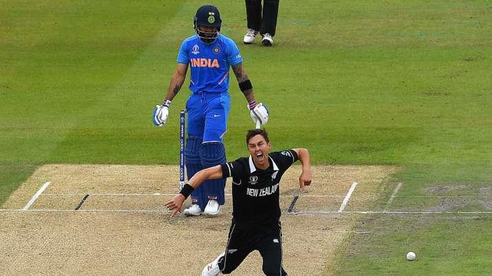 India Tv - Virat Kohli was dismissed by Trent Boult on just 1.