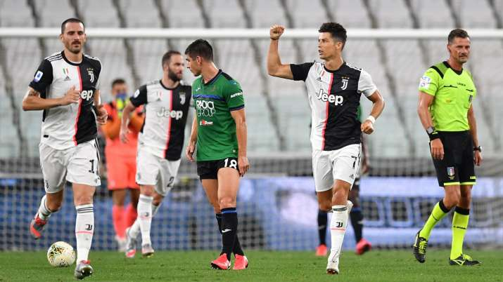Serie A: Cristiano Ronaldo rescues Juventus with penalties against 'electrifying' Atalanta
