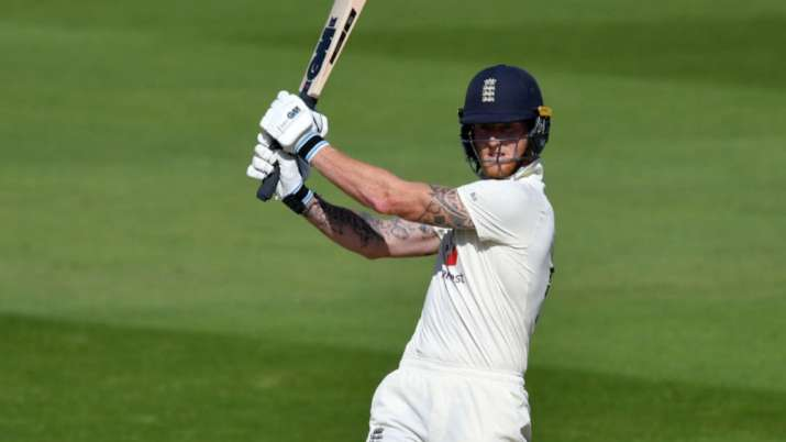 India Tv - Ben Stokes was the leading run-scorer for the side in the first Test.