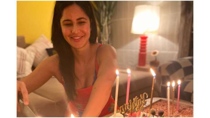 Katrina Kaif cuts three cakes on birthday, thanks fans and friends for lovely wishes