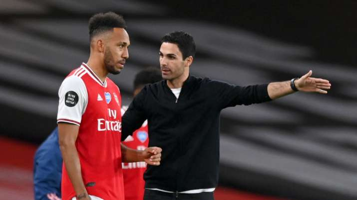 Aubameyang 'pretty convinced' on staying at Arsenal, says Mikel Arteta