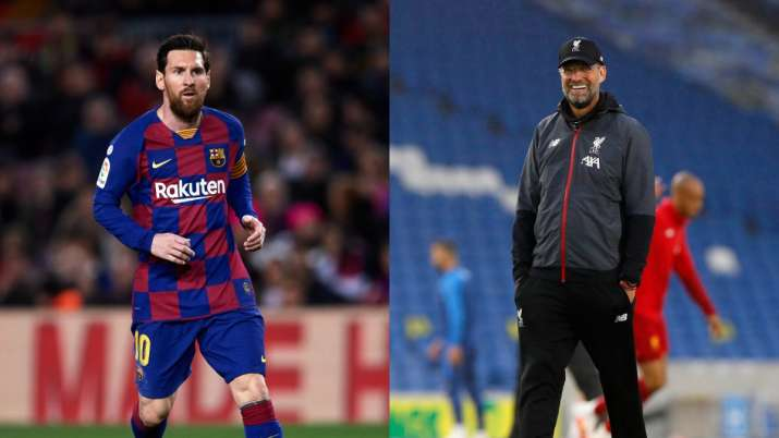 Lionel Messi Voted As World S Best By Bundesliga Players Jurgen Klopp Best Manager Football News India Tv