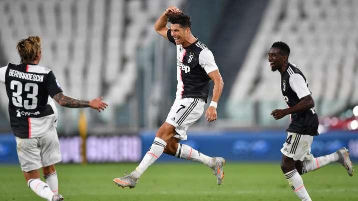 Serie A: Cristiano Ronaldo scores again as Juventus seal ninth straight title