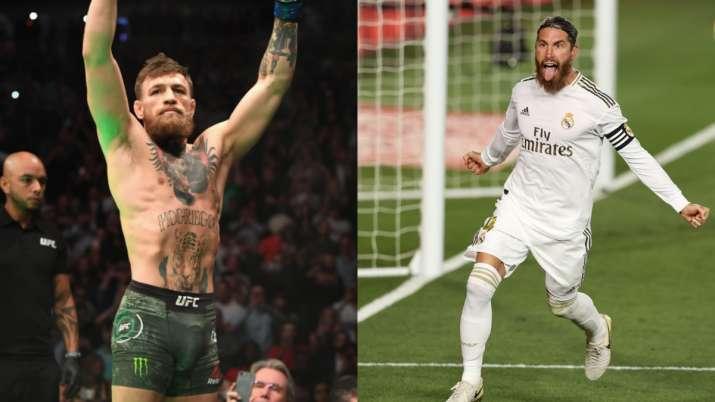 Conor McGregor shows silky skills, Sergio Ramos invites him to Real Madrid training