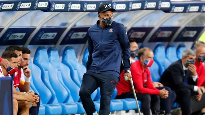 Kylian Mbappe out for three weeks, could miss Champions League quarterfinal against Atalanta