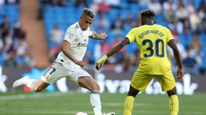 Real Madrid's Mariano Diaz has tested positive for
