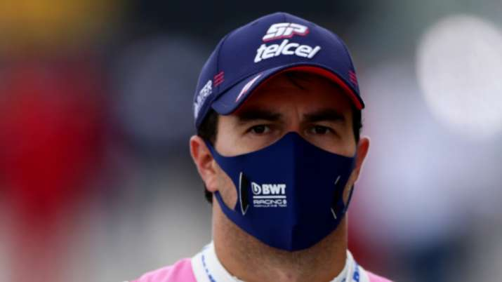 Sergio Perez out of British GP after testing positive for coronavirus