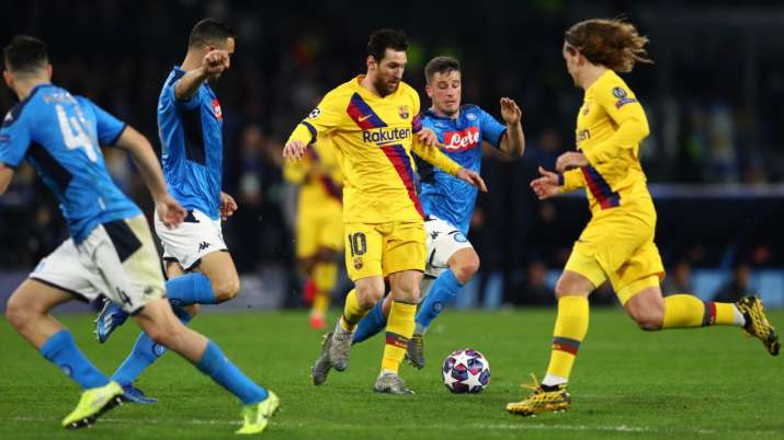 Napoli president concerned with coronavirus ahead of Champions League clash against Barcelona