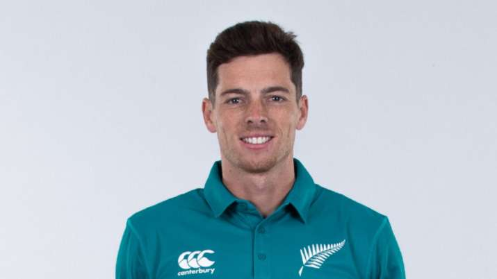 Will park up in the lounge in corner on way to Caribbean: Mitchell Santner