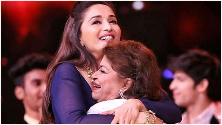 On Guru Purnima, Madhuri Dixit pays tribute to Saroj Khan: She made everything look like poetry in motion thumbnail