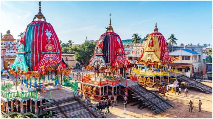 Bahuda Yatra of Lord Jagannth held without devotees