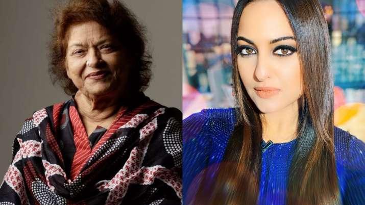 When Saroj Khan gave actress Sonakshi Sinha a priceless token of appreciation