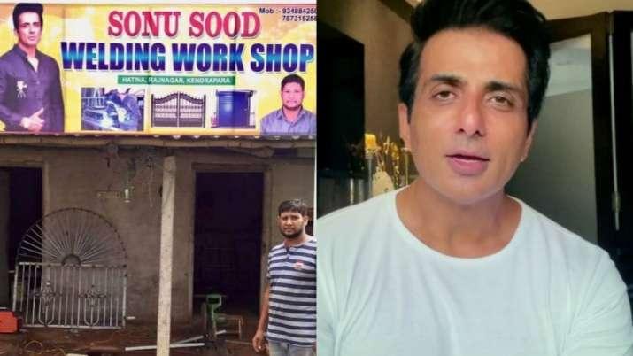 Odisha migrant worker names welding shop after Sonu Sood