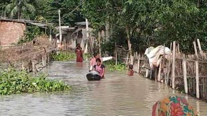 Heavy rain in Nepal causes flood-like situation in Bihar's Araria as water-level rises above danger-