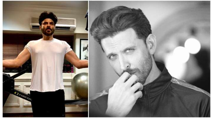 Hrithik Roshan gets fitness inspiration from Anil Kapoor