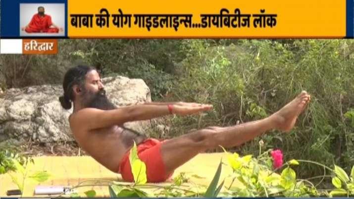 Yoga for Diabetes   Swami Ramdev shares 10 Yoga asanas and home remedies