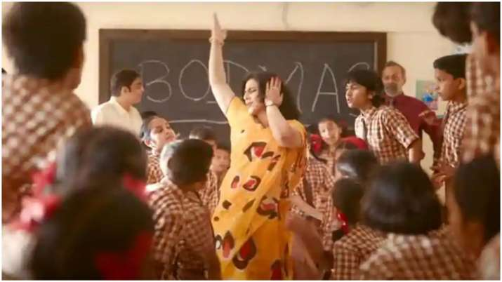 Vidya Balan virtually launches Shakuntala Devi song Pass Nahin To Fail Nahin with 5000 kids